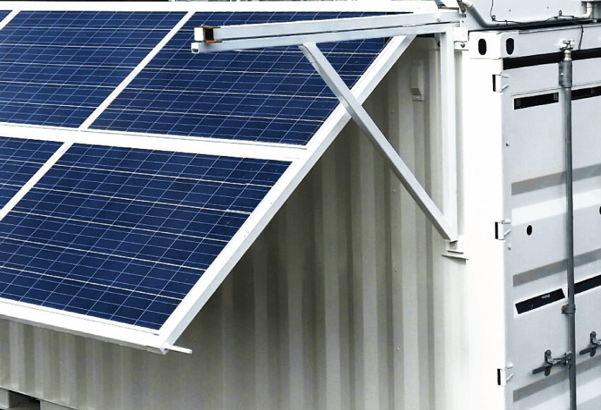 Heuch Solar Power Refrigeration and Freezer Containers