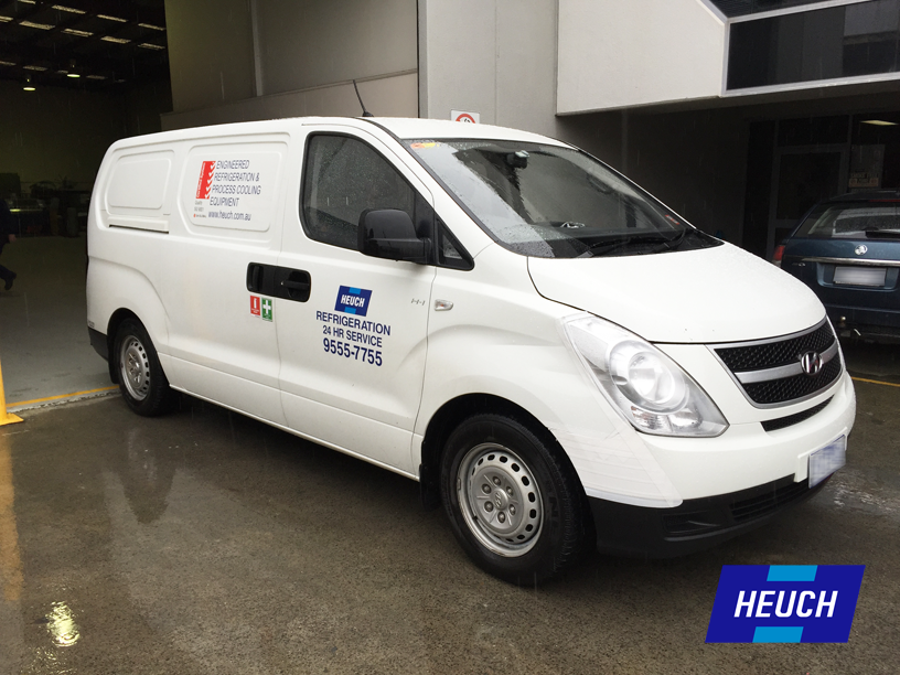 Heuch Service Van Programmed Maintenance. Available 24 Hours a Day 365 Days a Year.