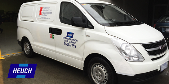 Programmed Maintenance Heuch Service Van